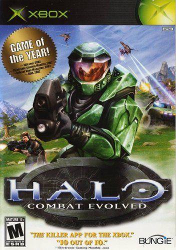 Halo: Combat Evolved Microsoft http://www.amazon.com/dp/B00005NZ1G/ref=cm_sw_r_pi_dp_qDnrwb14SZE9Y