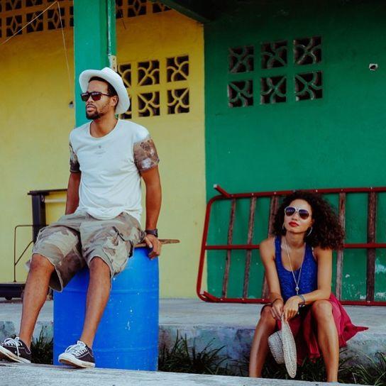 Jurnee Smollett and husband Josiah Bell in Panama