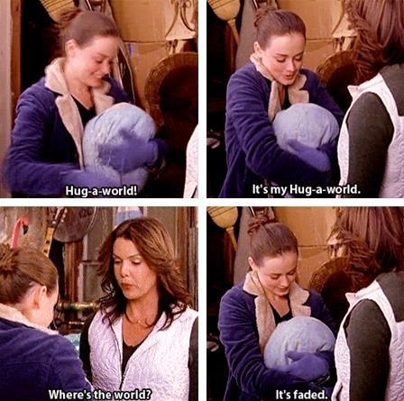 It's now Hug-a-Canada. Gilmore Girls