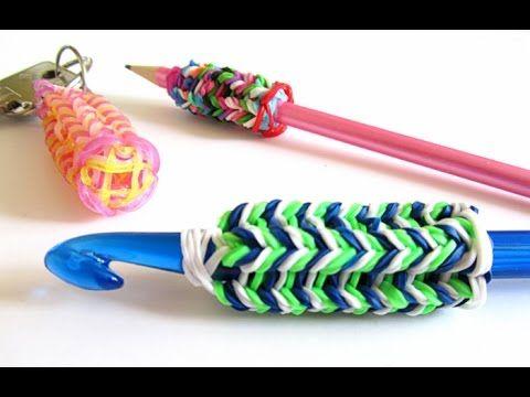 Come fare il cordoncino tricotin con il telaio Band Loom e gli elastici ...