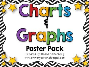 Charts & Graphs {Poster Pack} freebie! Awesome!!