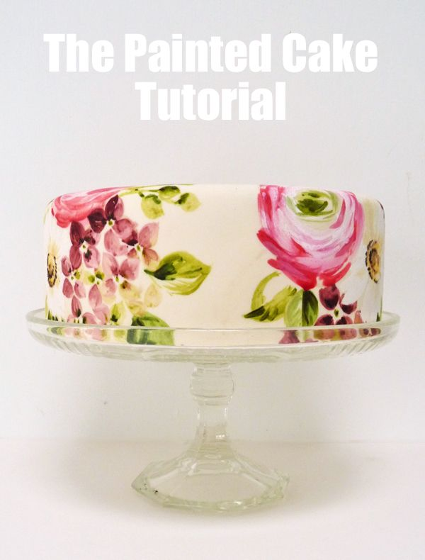 Amelie's House: Painting onto fondant tutorial