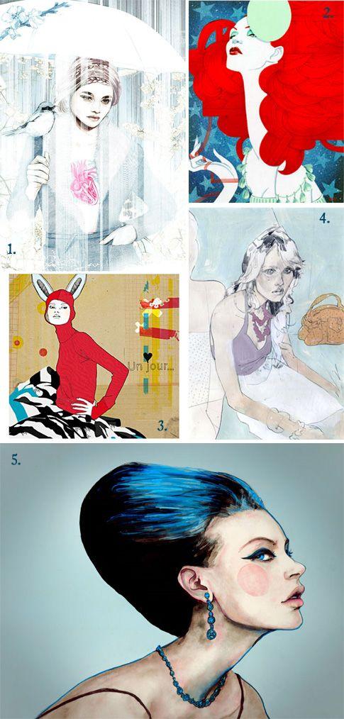 1. Irene Maria Jacobs 2. Richard Gray 3. Sophie Leblanc 4.Adam Lowe 5. Danny Roberts