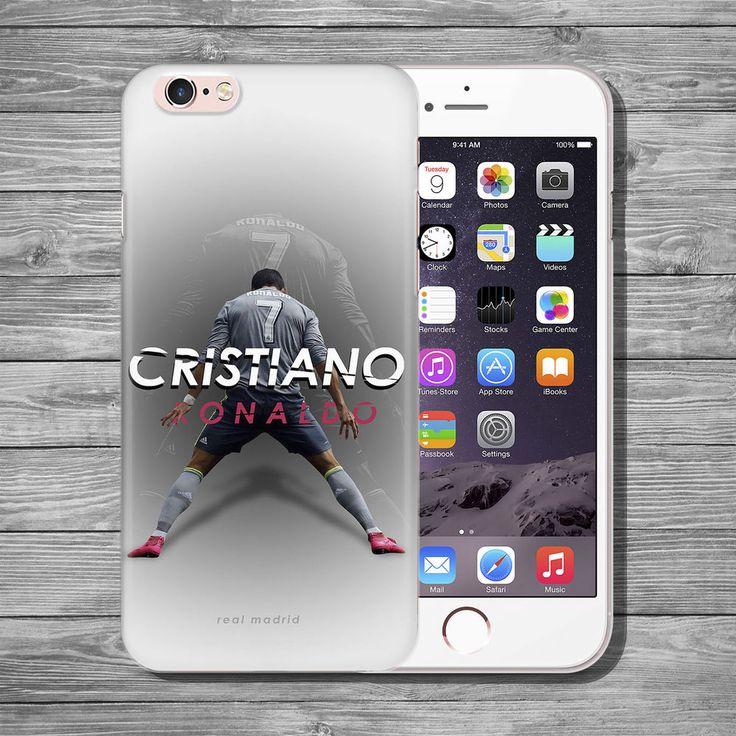Cristiano Ronaldo Football Soccer THIN case cover iPhone 4 5 5c 5s SE 6 7 8 plus