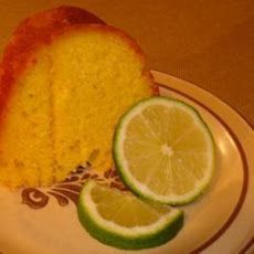 Glazed Lime and Rum Cake