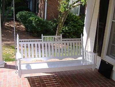 #Victorian Porch Swing--love this!