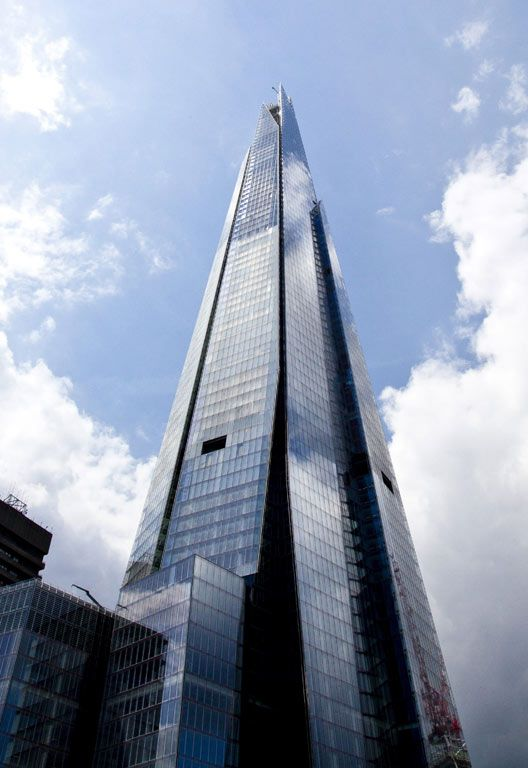 Europe's tallest building and #London landmark, The Shard