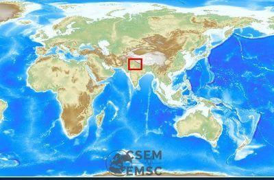 6.1 earthquake jolts northern India tremors felt in Delhi-NCR