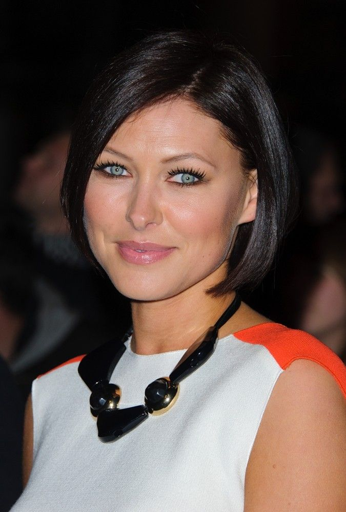 Emma Willis bob hairstyle