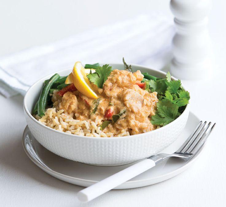 Gluten-free Thai fish curry - Healthy Food UK