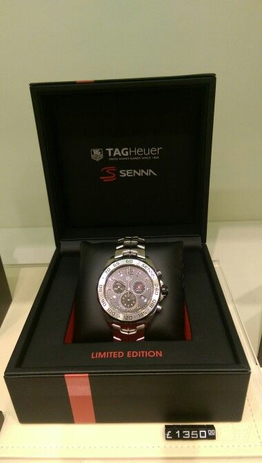 Tag heuer senna limited edition