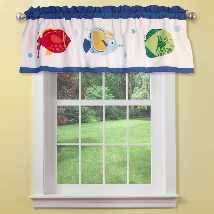 Colorful Sea Valance Gwazoo.com