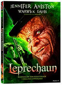 Recension av Leprechaun. En film av Mark Jones med Jennifer Aniston, Warwick Davis, Ken Olandt, Mark Horton och Robert Hy Gorman.