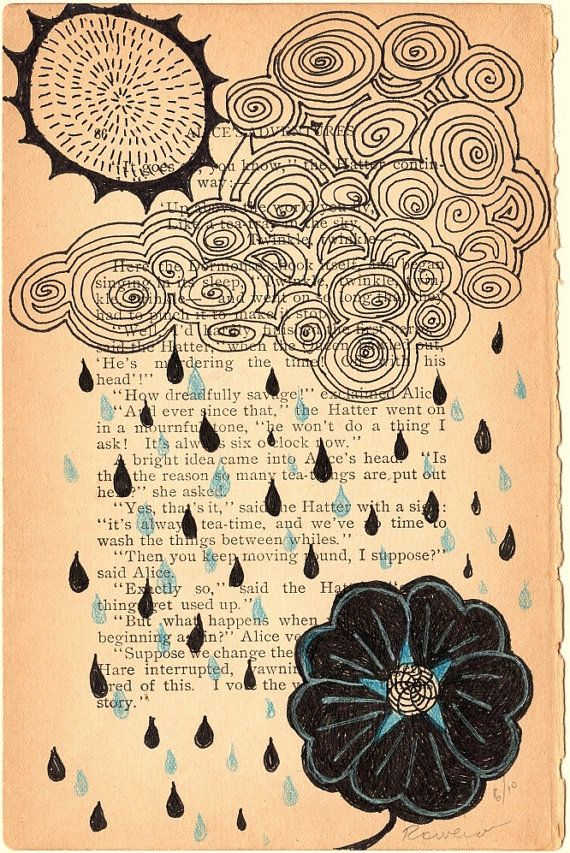 Begin Again or Prayer for Rain by Rowena Murillo by rowenamurillo,