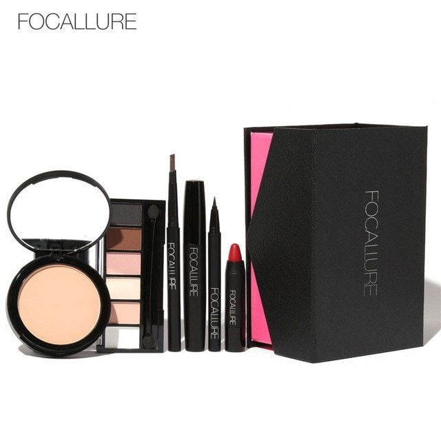FOCALLURE 6Pcs Makeup Gift Set 2 Set Choices