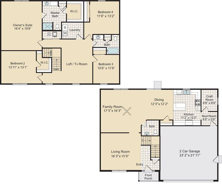 11 best house plans images on pinterest dream houses for Kentucky dream homes floor plans
