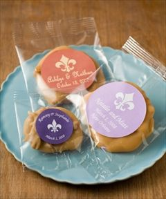 Leah's Pralines - New Orleans. What about doing pralines or something from New Orleans/LA as a favor??