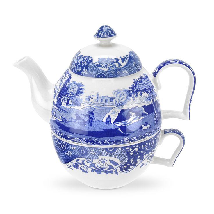 Blue Italian Tesett 450 ml - Spode - Spode - RoyalDesign.no