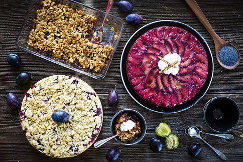 Upečte si ty nejlepší švestkové dezerty. S mákem, skořicí i vločkami!