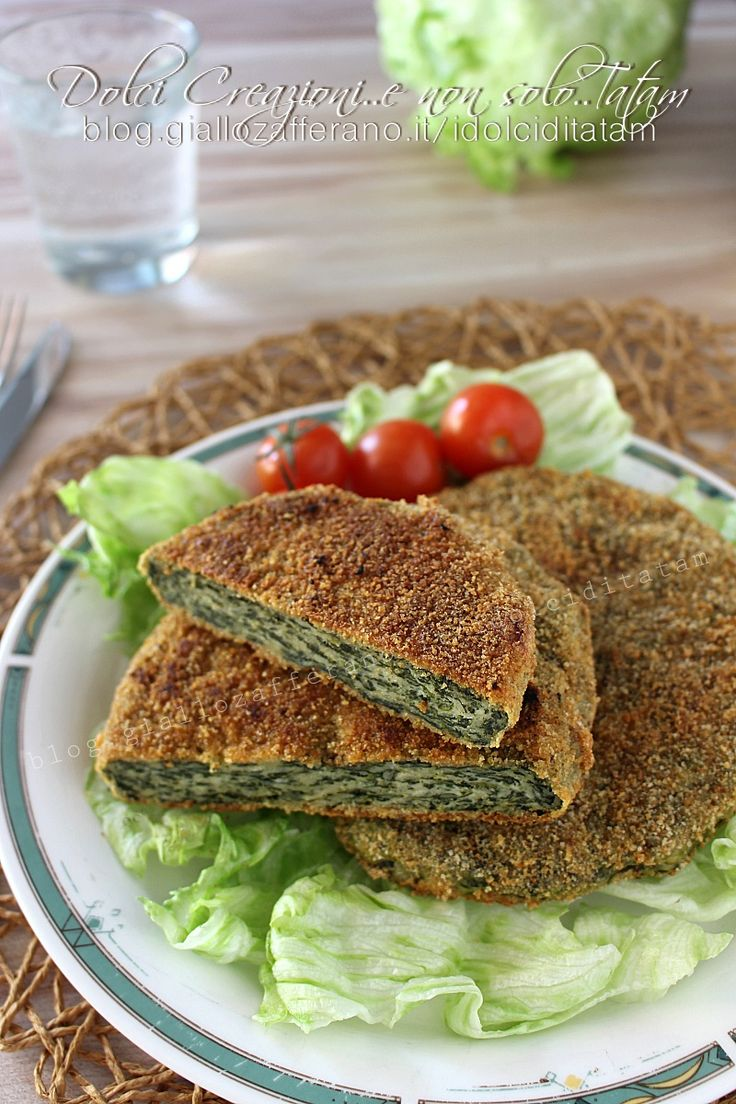 Cotolette di pollo e spinaci al forno, leggere e gustose