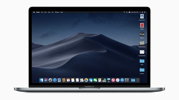 MacOS Mojave brings dark mode better privacy and more iOS