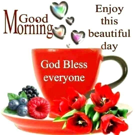 Good Morning, Enjoy This Beautiful Day morning good morning morning quotes good morning quotes good morning greetings