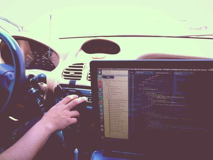 They see me codin they hatin Hahaha Take a ride and still code  . l .  #programmer #programming #coding #frontend #html #javascript #css #python #workstation #working #motivation #java #js #coffee #coffeetime #hello #helloworld #developer  #coder #floripa #florianopolis #goodmorning #drive #ride