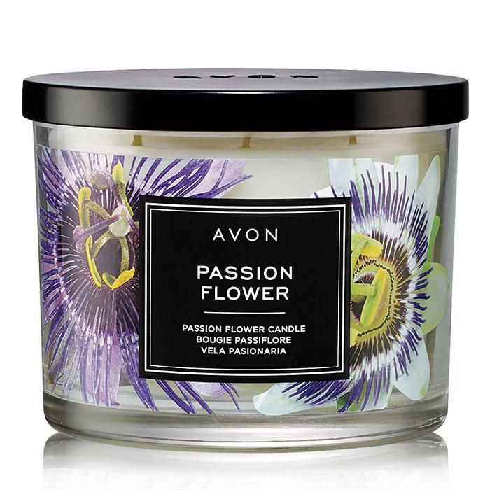 Passion Flower Candle Top Quality Skin Care By Avon Foto