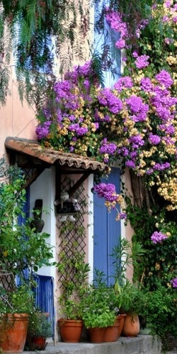 The alluring beauty of village Grimaund ~ Provence, French Riveria