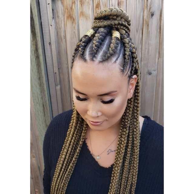 2020 Braid Hairstyle African Hair Braiding Styles Hair Styles Braids For Black Hair