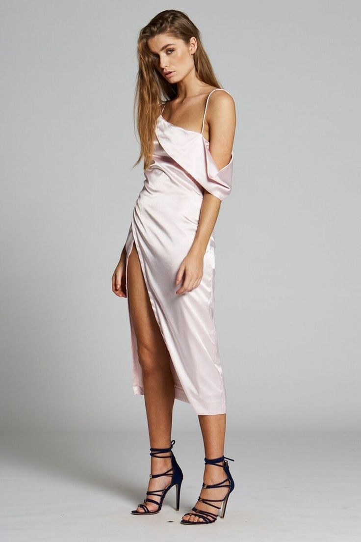 Maurie & Eve - Pre Order Noa Dress Pale Pink