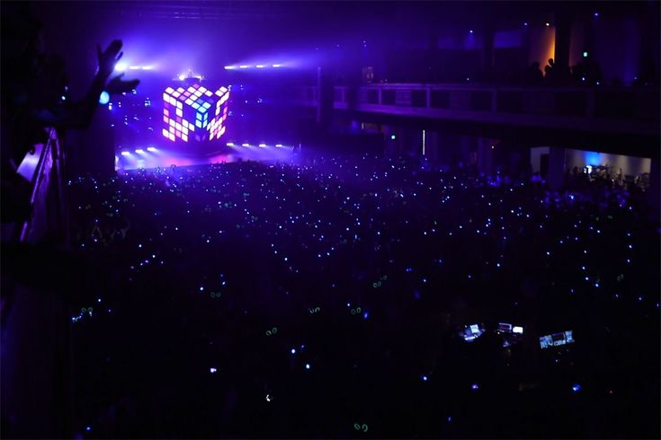 Wearable Devices Illuminate Concert-Goers And Track Fan Data