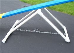 I like the base of this one as it is adjustable and made with PVC.