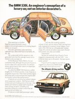 Bavarian Motor Works 1975 Ad Picture