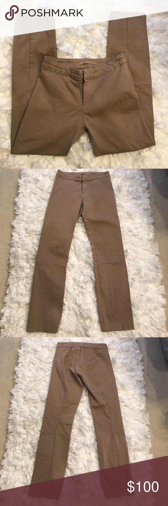 Vince Cropped Khaki Legging Excellent condition. Size 26. Vince. Khaki color. Cropped legging. Vince Pants Ankle & Cropped