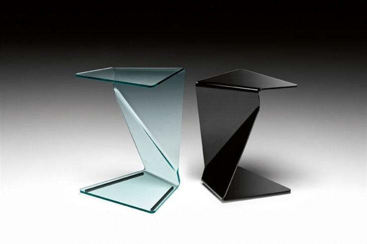 GlazenDesignTafel.nl | FIAM Design bijzettafel Sigmy | by Aquili Alberg | Italian Design | vidre glastoepassingen, Leiden | vidre.nl