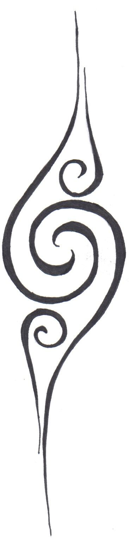 Spiral Tattoo by ~FantasyUnderground on deviantART