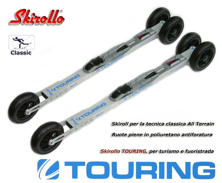 Skirollo TOURING - all terrain rollerskis for classic style