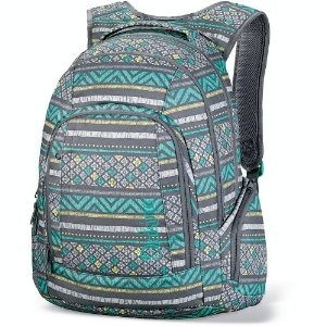 Love the turquoise color and the design of this ladies laptop backpack.