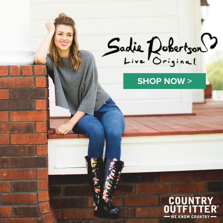Sadie Robertson Live Original By Roma Rain Boots