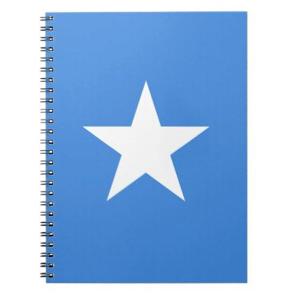 #Low Cost! Somalia Flag Notebook - #travel #office #gifts