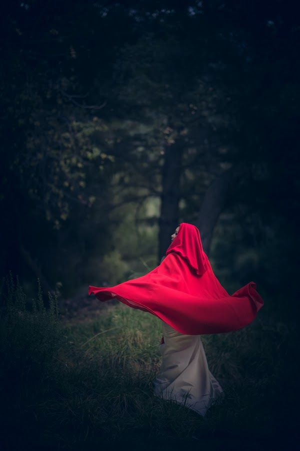 Red Riding Hood Wedding | The Frosted Petticoat