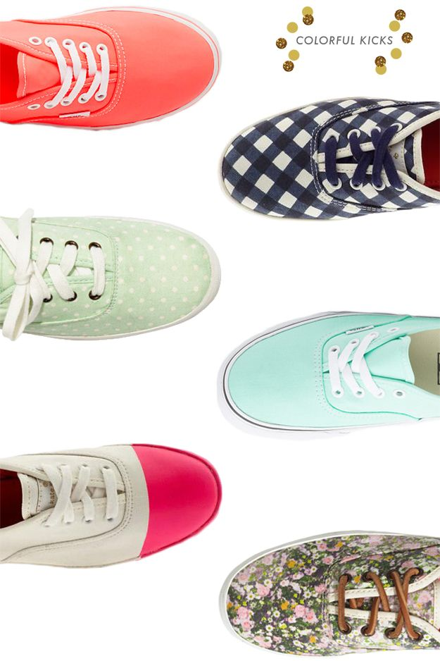 colorful kicks