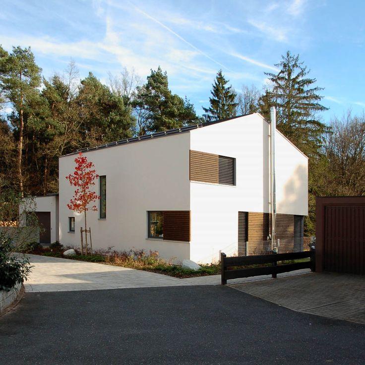 Einfamilienhaus - Passivhaus | w2 (Holzhaus mit Putzfassade)