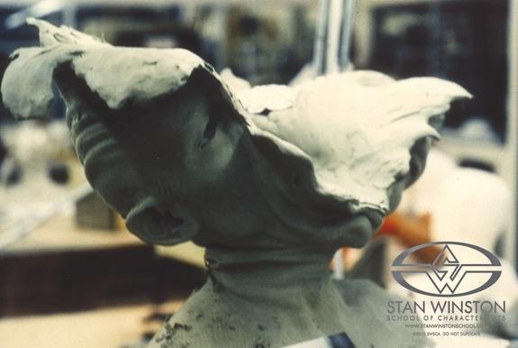 Modeling in Clay Terminator 2 T-1000 Splash Head