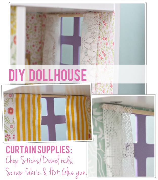 Dollhouse Ideas, Curtains, Furniture, Printable Wallpaper