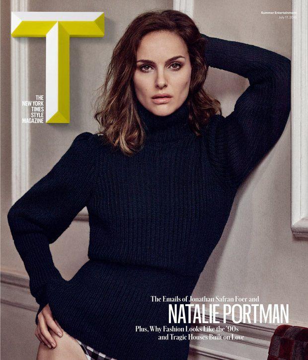 Natalie Portman en la revista T (ETODAY revista en línea)