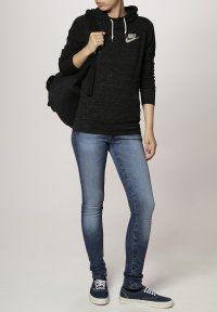 Nike Sportswear - GYM VINTAGE - Genser - black