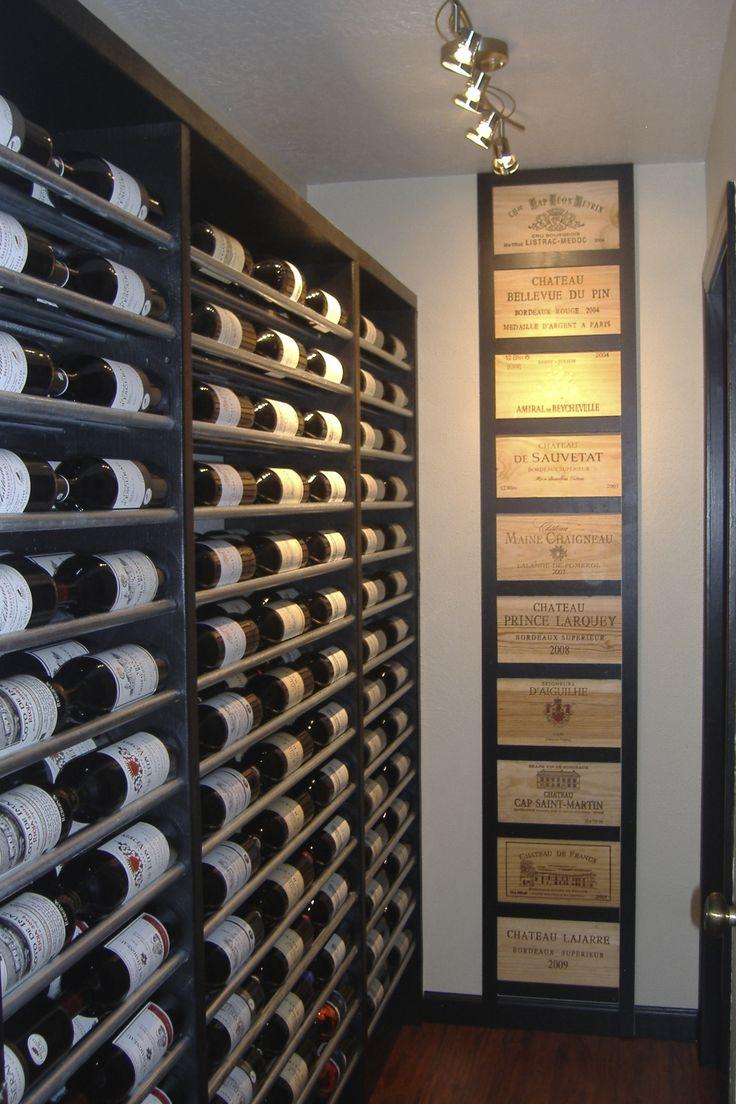 Wine closet I designed and built.