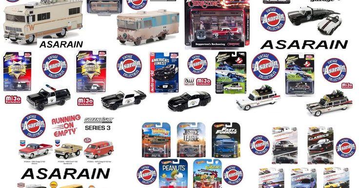 A loja Asarain recebeu grandes novidades de todas as marcas de miniaturas, incluindo muitas reposições de carros incríveis! Tudo isso e mui...